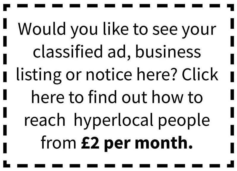 Click to book your own Classified Ad