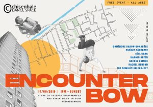 Flyer for Encounter Bow outdoor festival