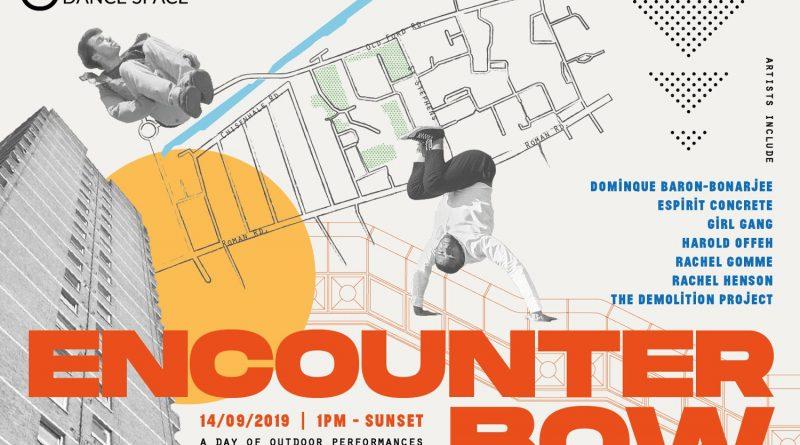 Flyer for Encounter Bow outdoor festival