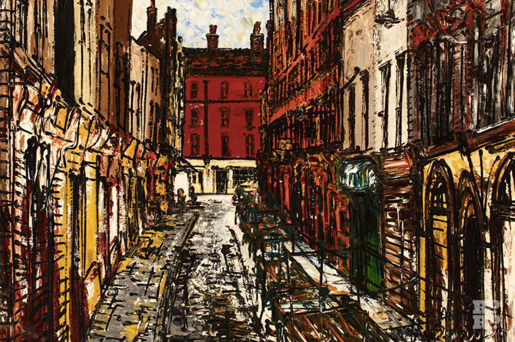 Cable Street Stepney by Noel Gibson, 1970