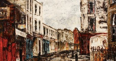 Old Montague Street, Whitechapel, by Noel Gibson, 1967
