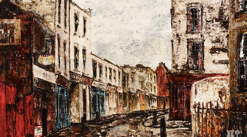 Old Montague Street, Whitechapel, by Noel Gibson, 1967
