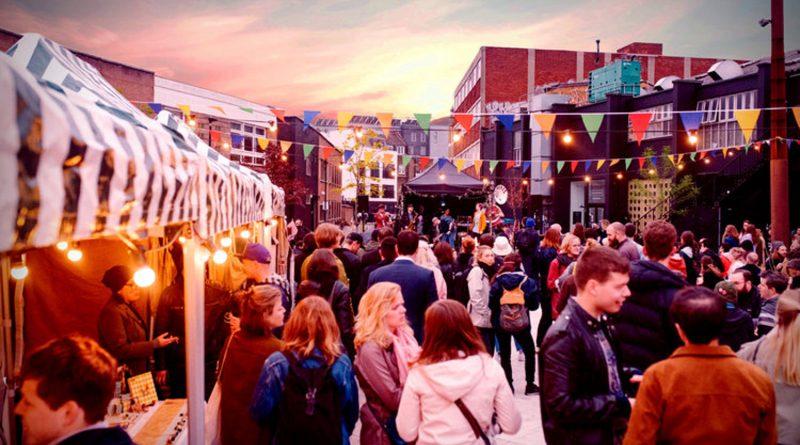 Oval Night Market in Bethnal Green