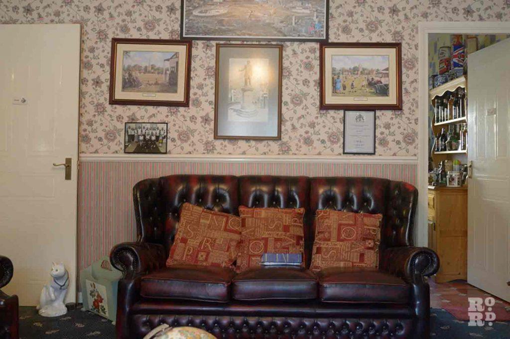 Ray Gipson's sofa