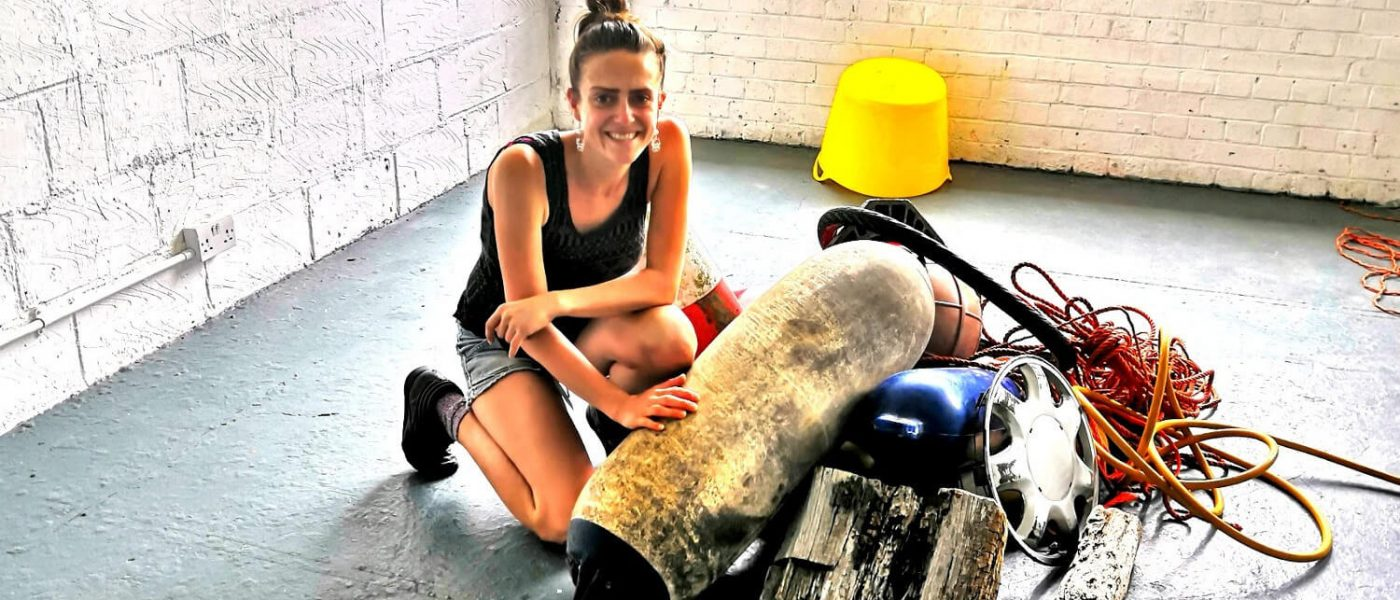 Q&A with artist Camilla Brendon about her Hertford Union Canal residency
