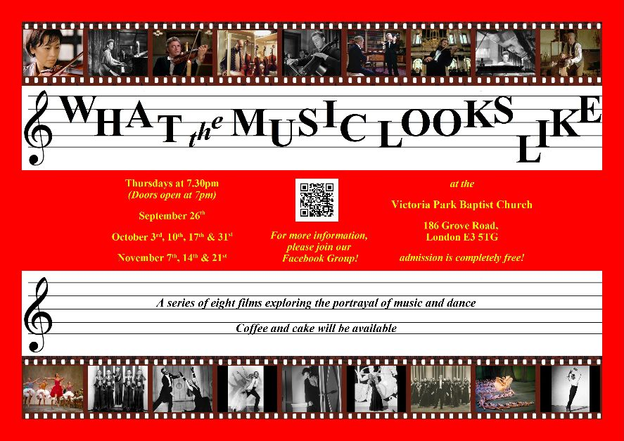 What the Music Looks Like flyer