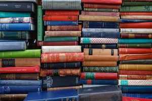 Writeidea Festival promotional image of books