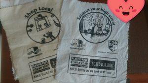 Roman Road Borrow-a-bag scheme