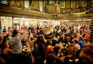 Cockney sing-a-long at Wilton's Music Hall
