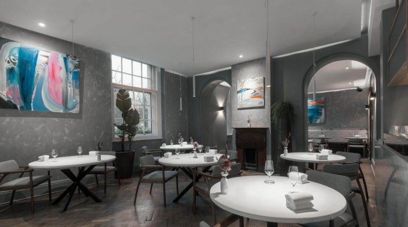 Interior of Da Terra restaurant in Bethnal Green