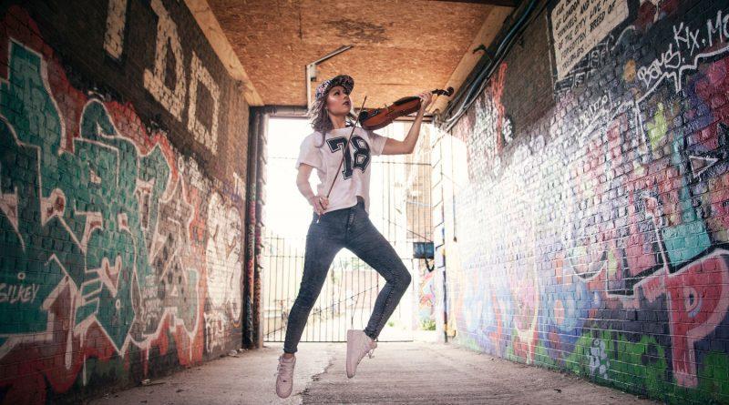 Tanya Cracknell aka The Grime Violinist