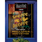 Luminor Sign Co paints Time Out's Christmas cover