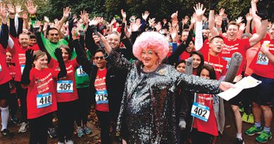 Promotional image for World Aids Day Red Run