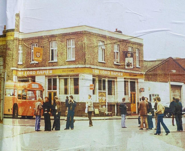 The Lord Napier in 1977 © David Jones and provided by Stephen Harris
