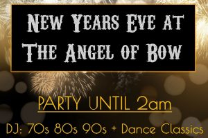 Angel of Bow New Years Eve party