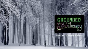Grounded Ecotherapy Winter Solstace event at Tower Hamlets Cemetery Park