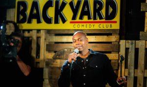 Backyard Comedy Club New Year's Eve 2020