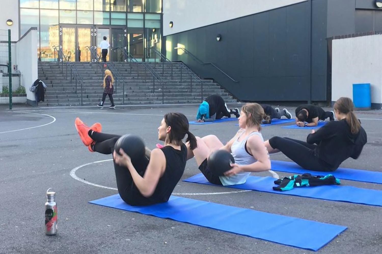 Victoria Park Fit Club fitness classes near Victoria Park