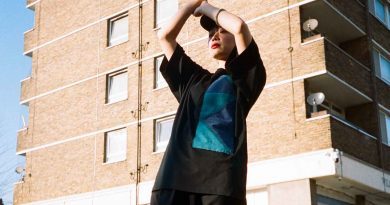 housing estate tower block Atika fashion shoot Roman road