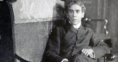 Reclining on chair in new yorkportrait Portrait Israel Zangwill East End Jewish Writer