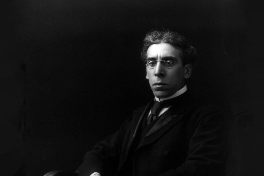 Portrait Israel Zangwill East End Jewish Writer 1905
