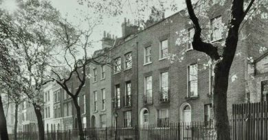 Paradise Gardens in Bethnal Green,