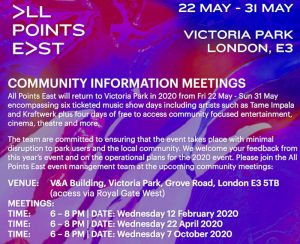 All Points East community meetings