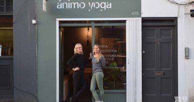 Nadine and Judy at Animo Yoga on Roman Road