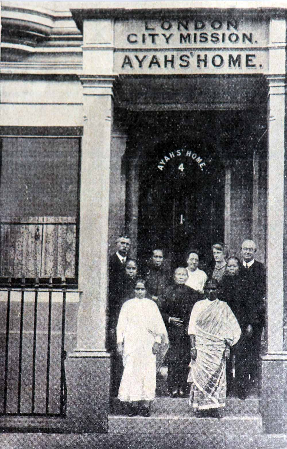 Archive image of Ayay's Home at London City Mission, 1921
