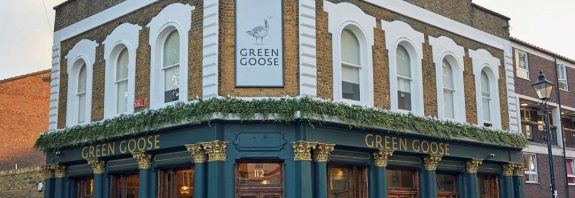 Green Goose Cardigan Road Bow East