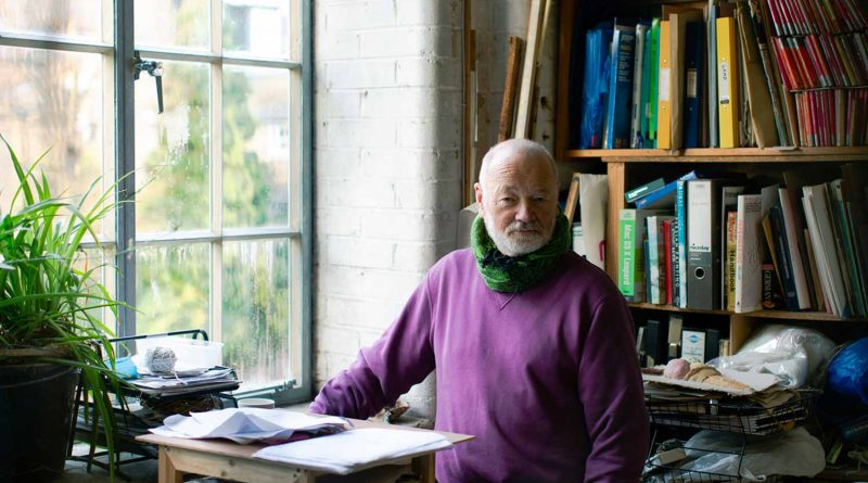 Portrait of Jon George: Chisenhale Arts' founding member