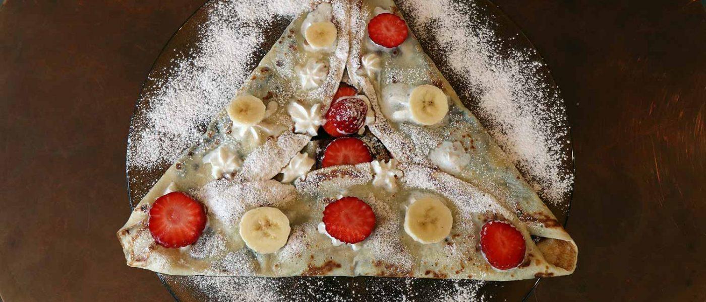 The best pancakes near Roman Road