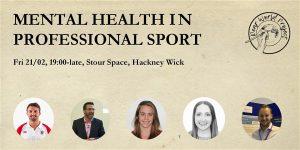 Mental health in sport