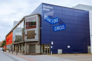 Building of Stratford Arts Centre