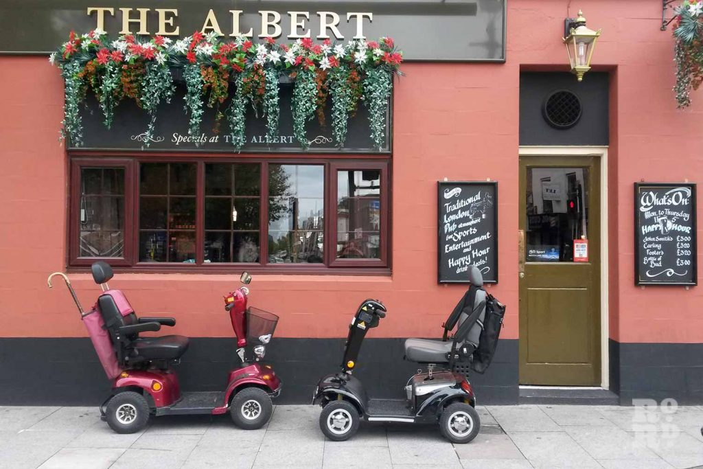 The Albert pub, Roman Road, 2015