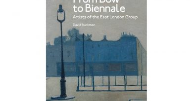 Book front cover of Bow to Bienalle, East London Group, by David Buckman