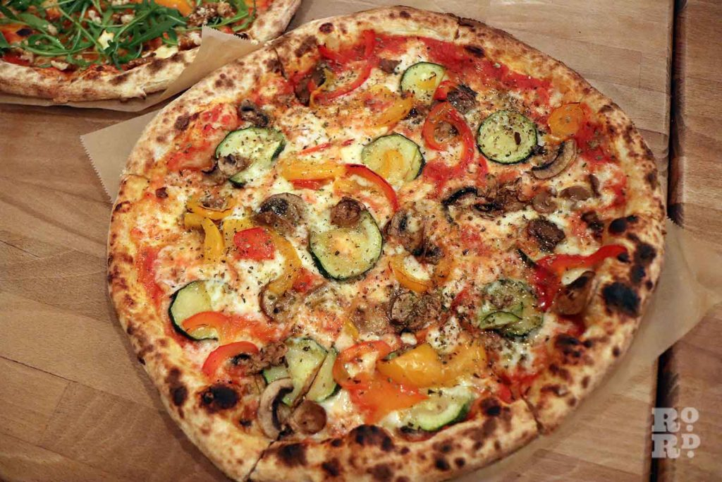 Pizza from the Pizza Room in Mile End, East London