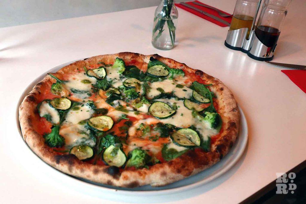 Pizza at Vicolo Romano, Roman Road