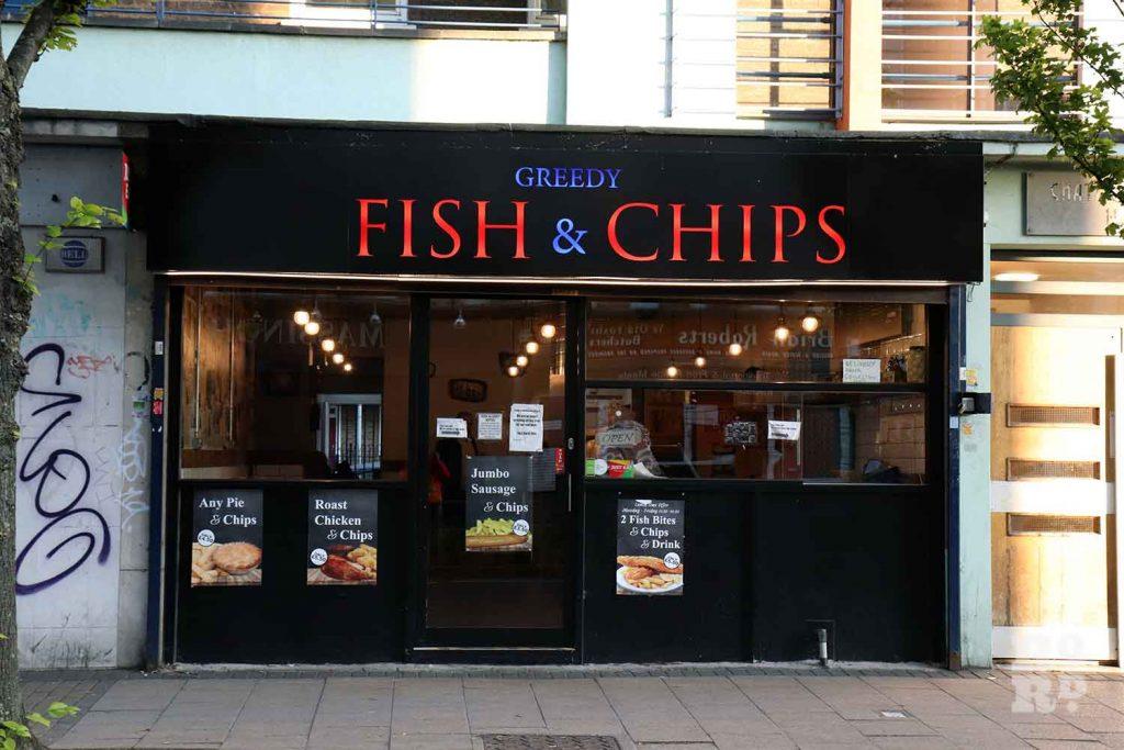 Greedy Fish & Chips, Globe Town, Roman Road, East London