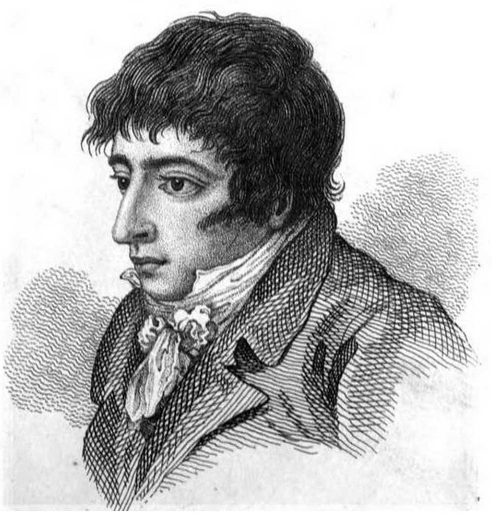 Etching portrait of Daniel Mendoza, the Jewish Boxer from Bethnal Green