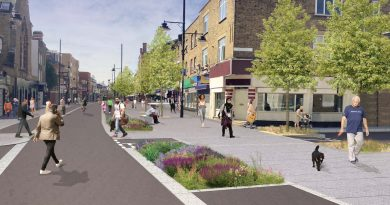 3D model of pedestrianisation of Roman Road by Liveable Streets Bow