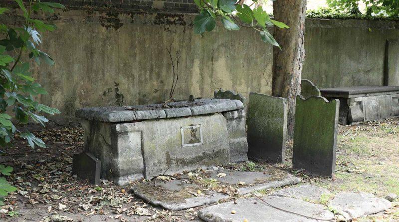 Baal Shem of London's grave at Alderney Cemetery, Mile End