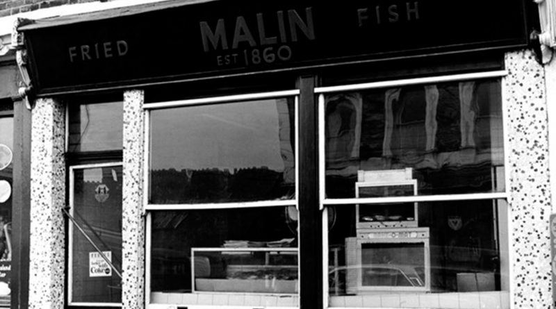 Malin on Old Ford Road in Bow, the first fish and chip shop in the UK established 1860