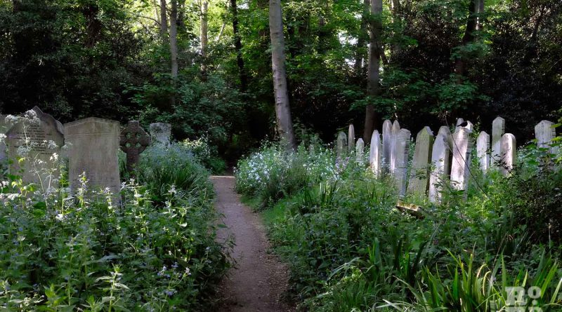 Bow Cemetery, now known as Tower Hamlets Cemetry, May 2020