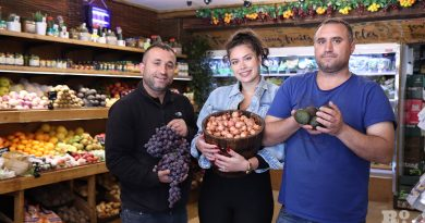 Family owners of Whole Fresh on Roman Road in Bow, East London