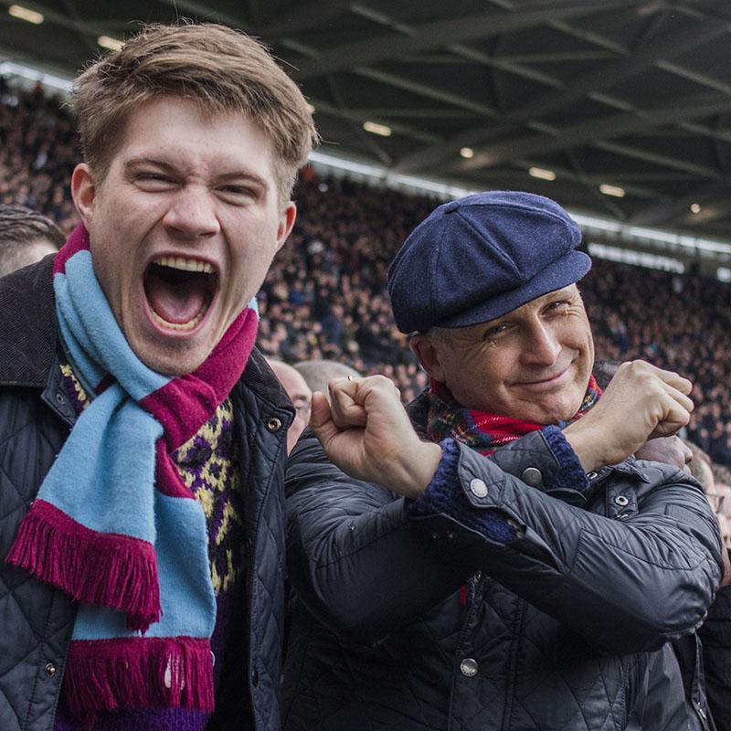 Father and son, Faces of West Ham, photos by José da Luz