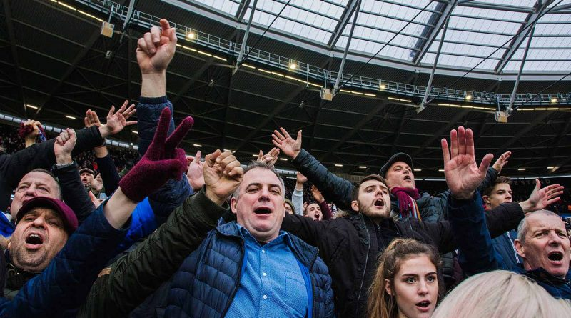Crowds at the stadium, Faces of West Ham, photos by José da Luz