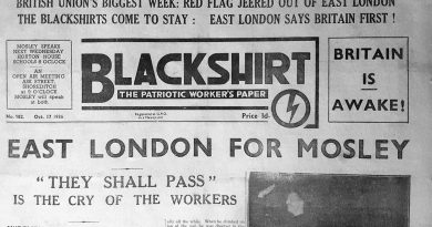 Blackshirt newspaper coverage of the Mile End Pogrom