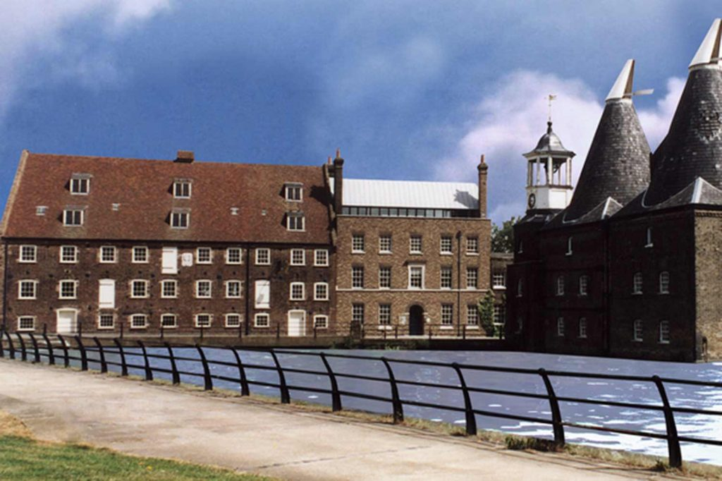 Three Mills in Bow, part of Open House London