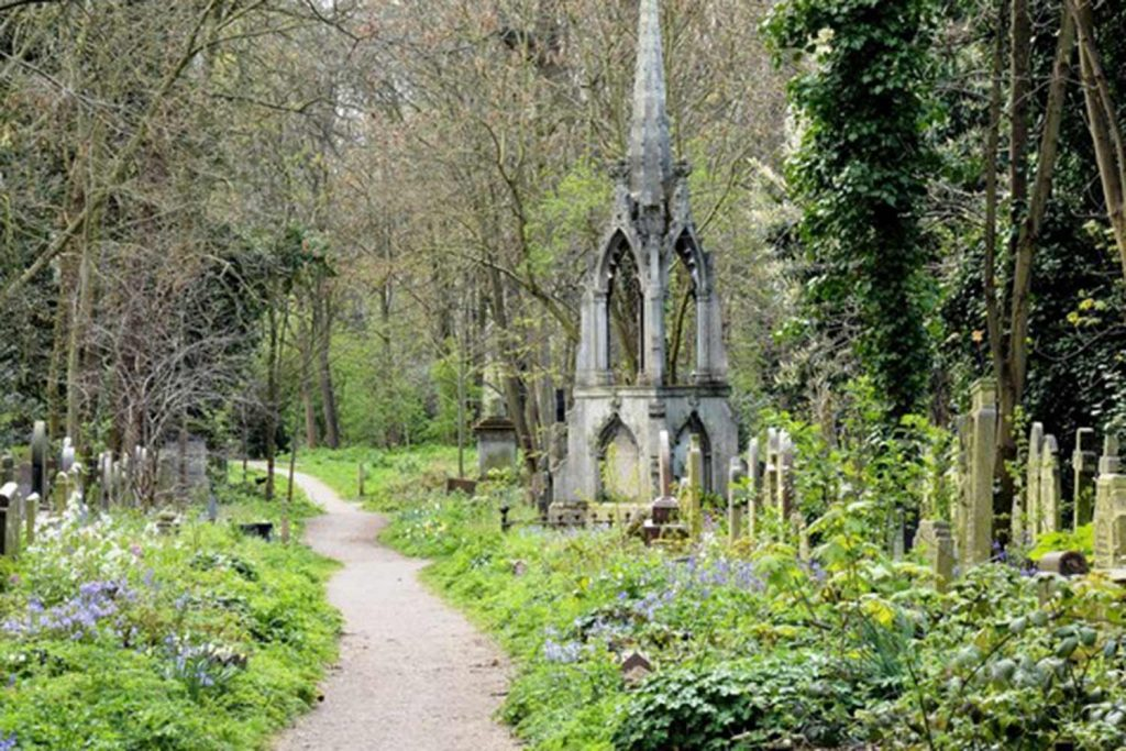 Tower Hamlets Cemetery Park at the Open House London